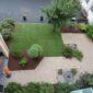 Jardin côté parc